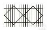 Сварной металлический забор №26