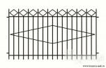 Сварной металлический забор №27