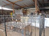 Производство кованой ограды для могилы