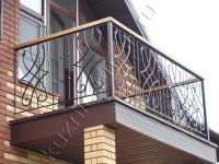 Кованое ограждение балкона, код: Б-700