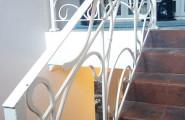 Верхний этаж лестничного ограждения