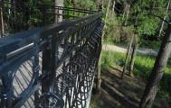 Кованое ограждение балкона код: Б-706