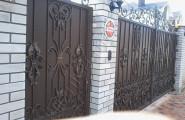 Калитка и ворота, ковка, частный дом