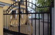Ворота кованые автоматические распашные