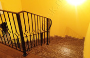 Перила на лестницу, ковка