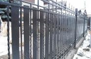 Забор, ковка на заказ для коттеджного участка