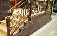 Кованые ограждения для лестниц № 209