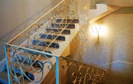 Кованые лестницы в интерьере № 213