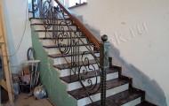 Перила лестницы ковка