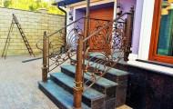 Кованые ограждения лестницы № 223