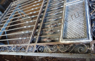 Производство секции кованых ворот
