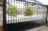 Ворота кованые раздвижные