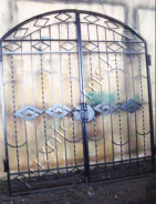 Кованые ворота со скидкой