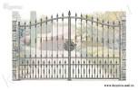 Эскиз ворот ковка №14