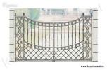 Эскиз ворот кованых №17