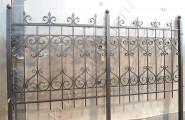 Забор кованый секция