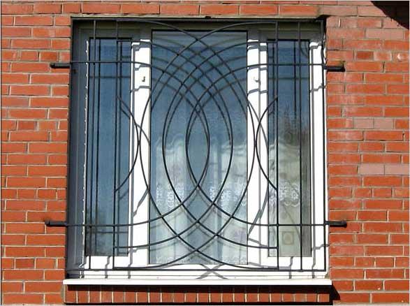 железные решетки на окна цена фото